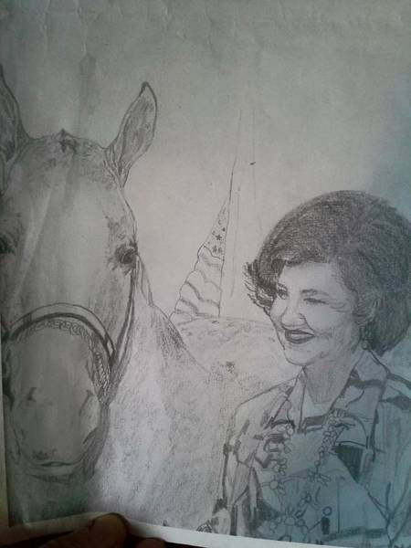 Appaloosa Drawing - Champ by Kathi Schu Switzer
