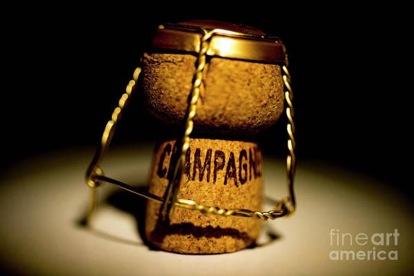 Photograph - Champagne Cork by Mats Silvan