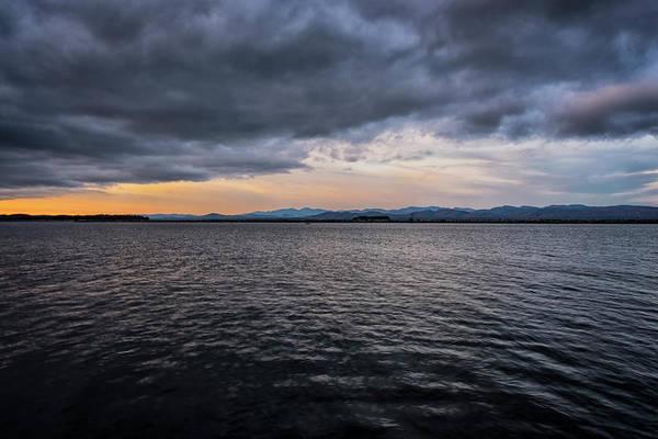 Photograph - Champlain Sunrise by Tom Singleton