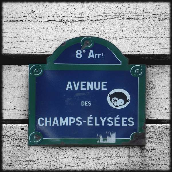 Photograph - Champs Elysees by Roberto Alamino
