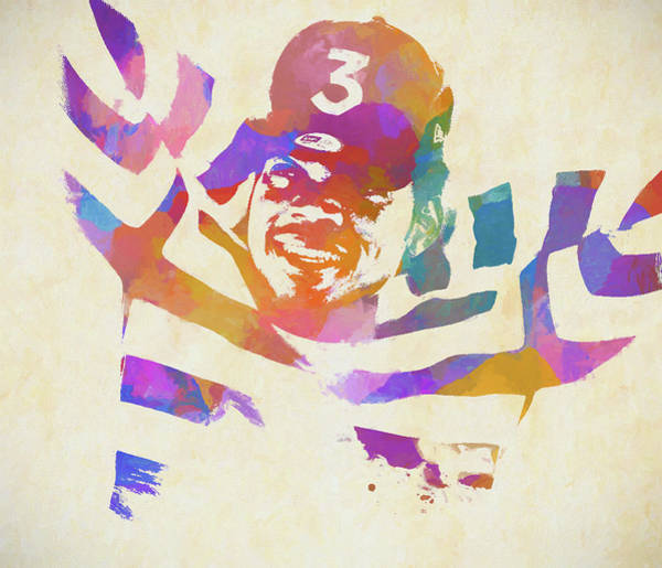 Wall Art - Painting - Chance The Rapper by Dan Sproul