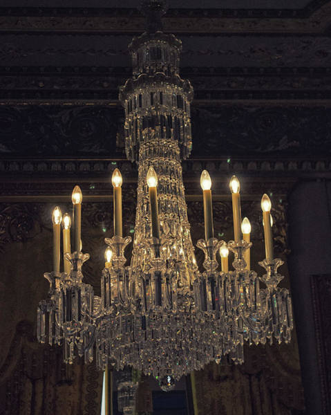 Chandelier Photograph - Chandelier by Martin Newman