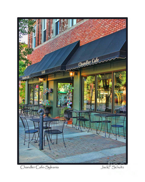 Chandler Photograph - Chandler Cafe-sylvania by Jack Schultz