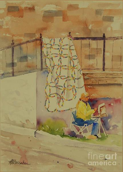 Wall Art - Painting - Chandler Hill Plein Air by Annette McGarrahan