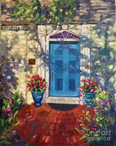 Painting - Chandor Gardens Door by Patsy Walton