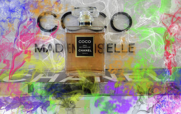 Jimmy Choo Digital Art - Chanel Coco Abstract 4 by To-Tam Gerwe