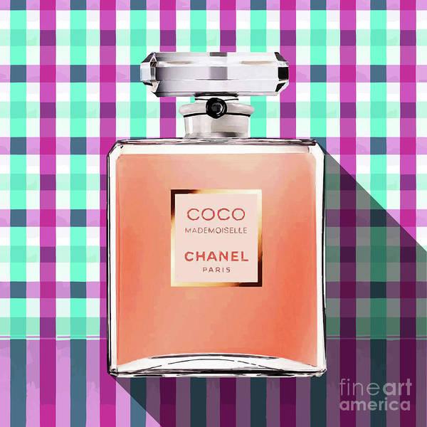 Mademoiselle Digital Art - Chanel-coco-mademoiselle_pa-kao-ma12 by Bobbi Freelance