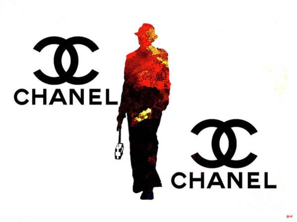 Vogue Mixed Media - Chanel Fashion by Daniel Janda