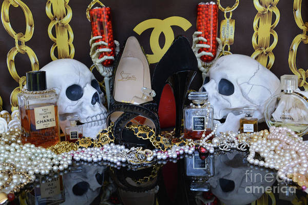 Charnel Photograph - Chanel Halloween 6 by To-Tam Gerwe