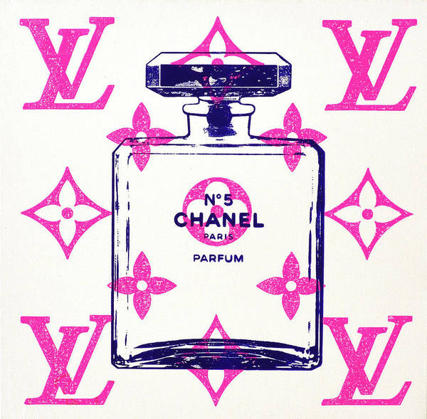 Chanel Painting - Chanel In Style by Shane Bowden