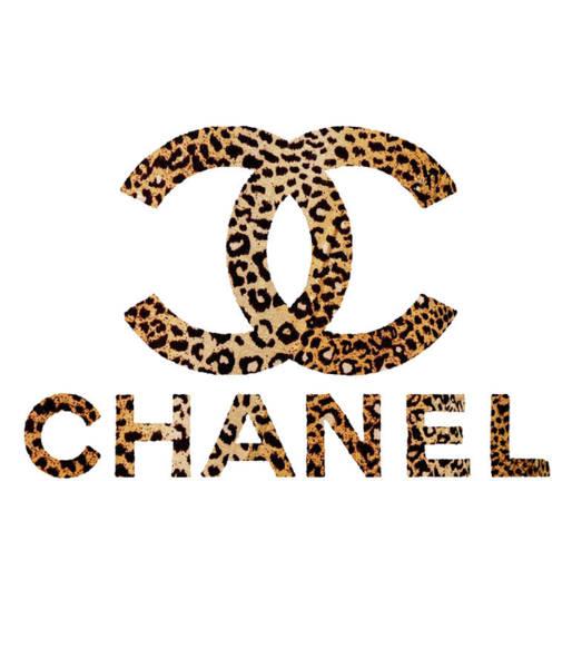 Puma Digital Art - Chanel Leopard 1 by Del Art