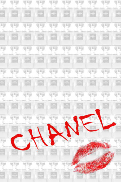 Photograph - Chanel Lips 2b by Andrew Fare