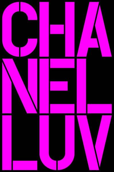 Wall Art - Painting - Chanel Luv-4 by Nikita