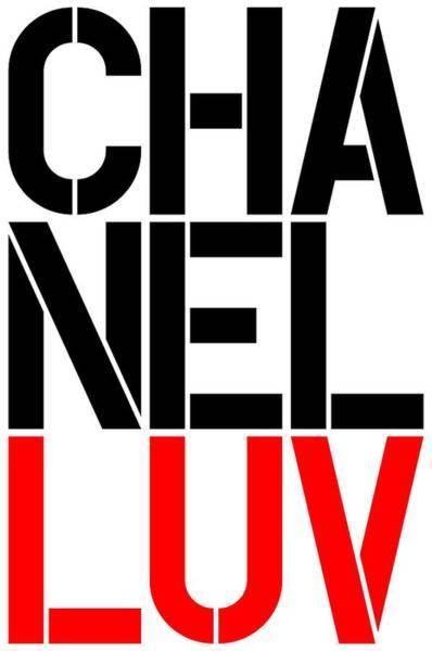 Wall Art - Painting - Chanel Luv-5 by Nikita