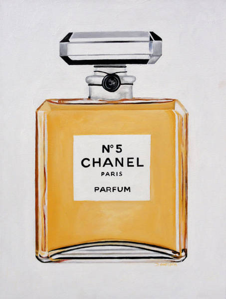 Chanel Painting - Chanel Me by Denise H Cooperman