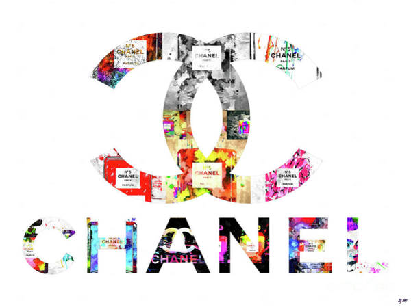 Vogue Mixed Media - Chanel Mosaic by Daniel Janda