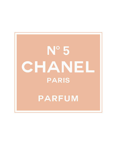 Wall Art - Digital Art - Chanel No 5 Parfum - Pink And White 01 - Lifestyle And Fashion by TUSCAN Afternoon