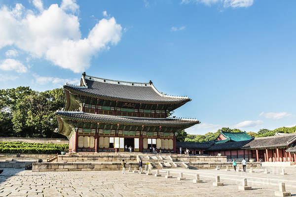 Photograph - Changdeokgung Palace by Didier Marti