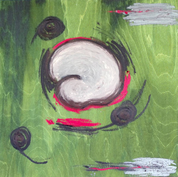Gestation Painting - Changes by Erika Brown