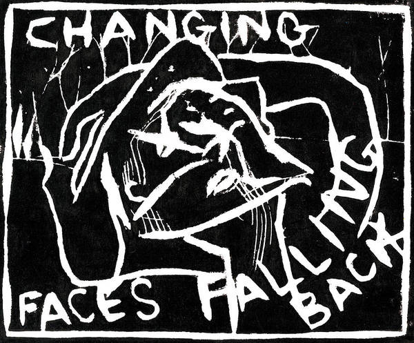 Relief - Changing Faces Falling Back by Artist Dot