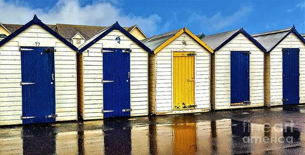 Samsung Galaxy S6 Wall Art - Photograph - Changing Huts by Anthony Hedger