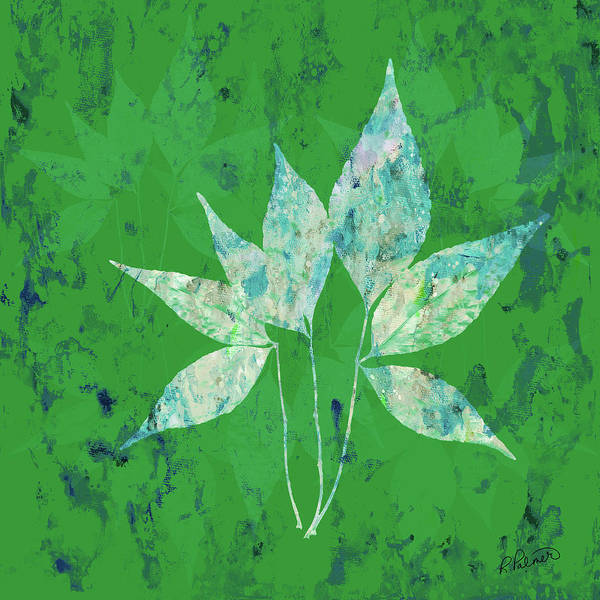 Merge Digital Art - Changing Leaves by Ruth Palmer