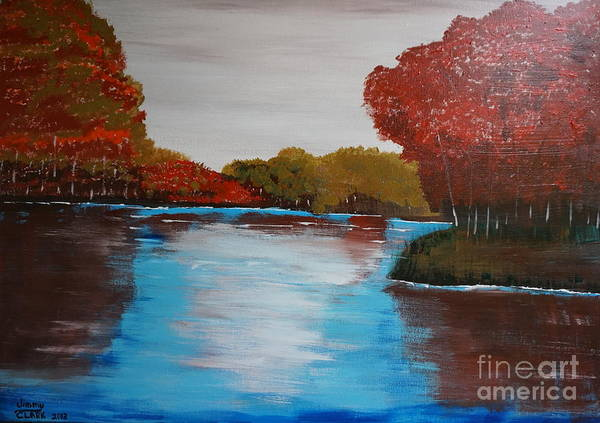 Painting - Changing Seasons by Jimmy Clark