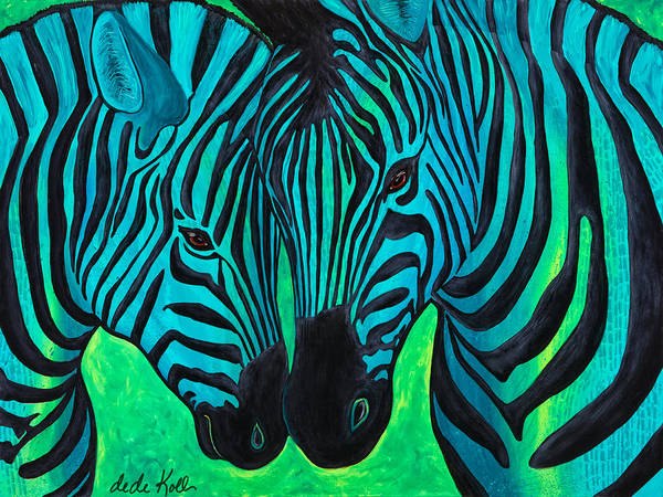 Painting - Changing Stripes by Dede Koll