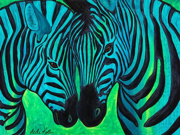 Changing Stripes Art Print