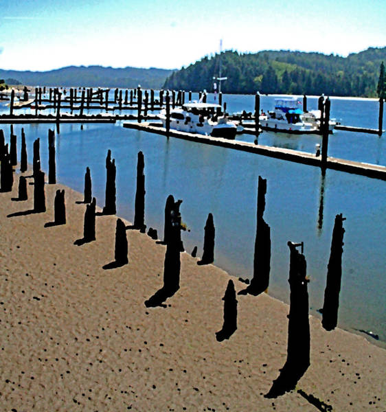 Photograph - Changing Tide - Florence Oregon by Joseph Coulombe