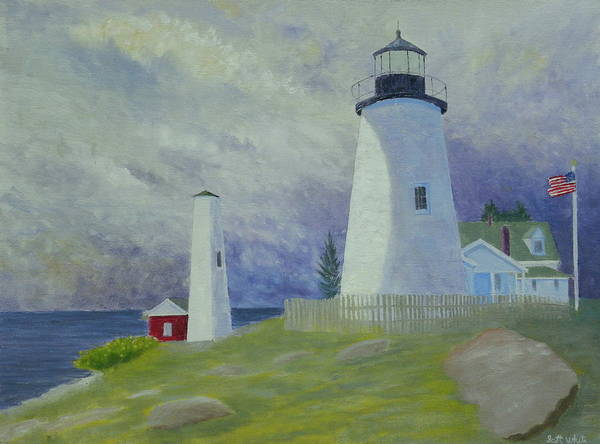 Painting - Changing Weather 2 by Scott W White