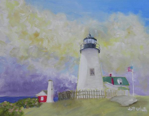 Painting - Changing Weather Beauty by Scott W White