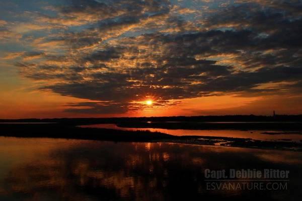 Photograph - Channel Sunrise 1472 by Captain Debbie Ritter