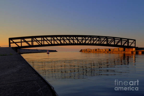 Photograph - Channel Sunset by Rod Best
