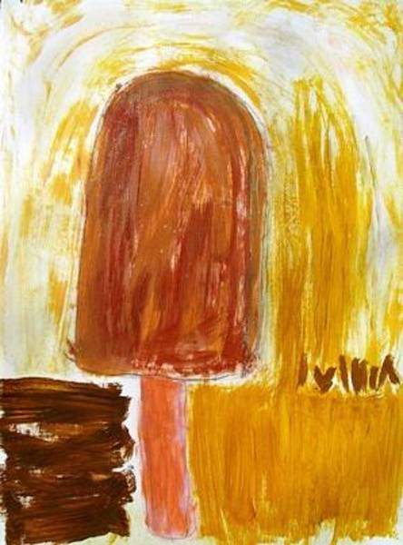 Wall Art - Painting - Channeling Fudge Cicles by Donna Zoll