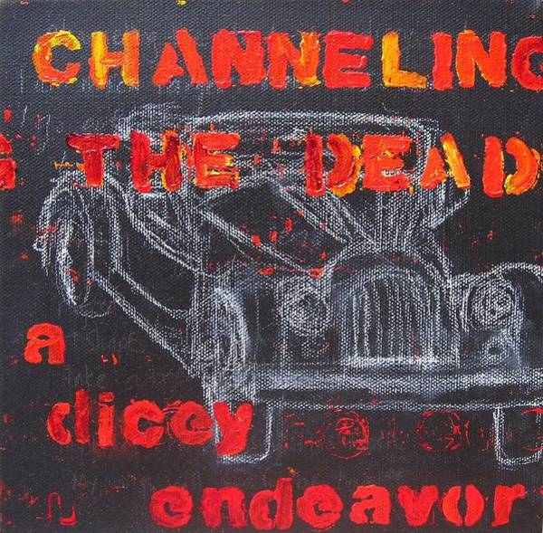 Channelling The Dead A Dicey Endeavor Art Print by Natalie Mae Richards