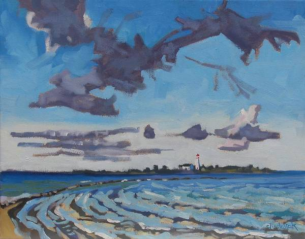 Lake Huron Painting - Chantry Morning by Phil Chadwick