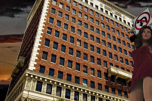 Digital Art - Chaos At The Federal Building by Bob Winberry