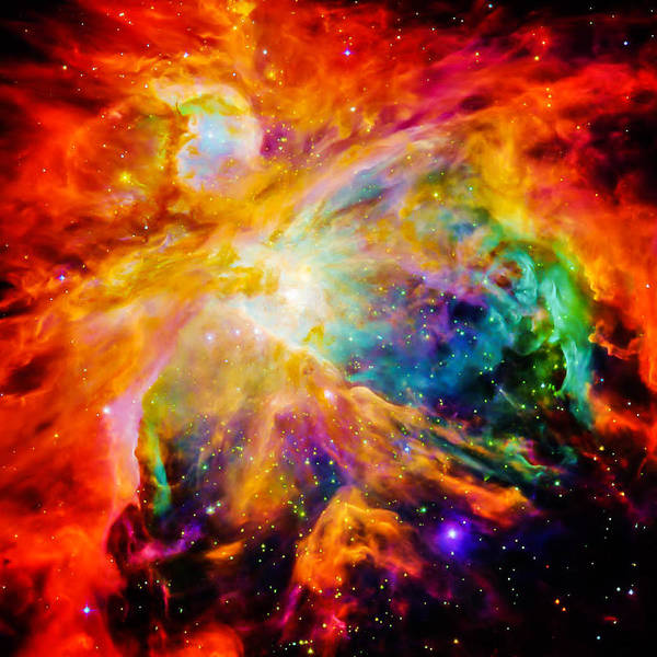 Telescope Photograph - Chaos In Orion by Britten Adams