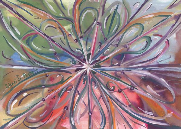 Chaotic Beauty Art Print
