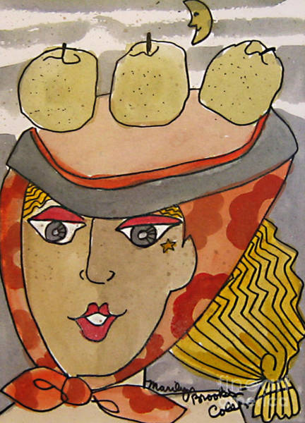 Painting - Chapeau Pommes by Marilyn Brooks