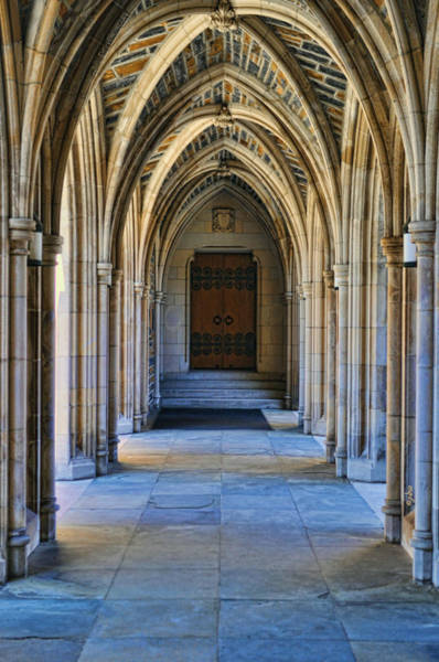 Wall Art - Photograph - Chapel Arches by Paulette B Wright