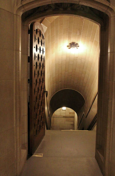 Photograph - Chapel Crypt by Cynthia Guinn