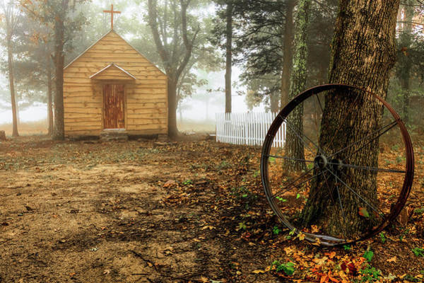 Photograph - Chapel In The Woods 1 by Patricia Cale