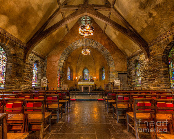 Photograph - Chapel In The Woods Sanctuary by Rod Best