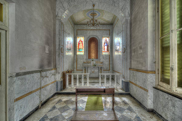Photograph - Chapel Of A Former Hospital - Cappella Di Ex Ospedale by Enrico Pelos