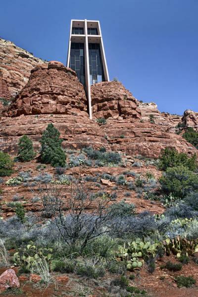 Red Rocks Of Sedona Photograph - Chapel Of The Holy Cross - Arizona by Nikolyn McDonald