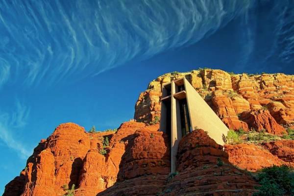 Photograph - Chapel Of The Holy Cross, Sedona, Arizona by Flying Z Photography by Zayne Diamond
