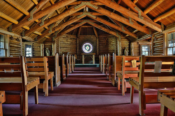 Photograph - Chapel Of The Sacred Heart Grand Teton by Dan Sproul
