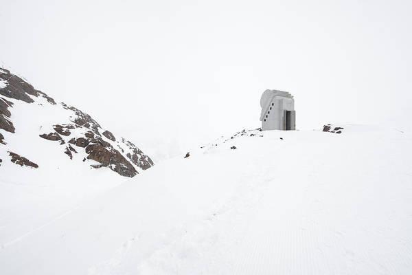 Photograph - Chapel Of The White Light Pitztal Austria by Matthias Hauser